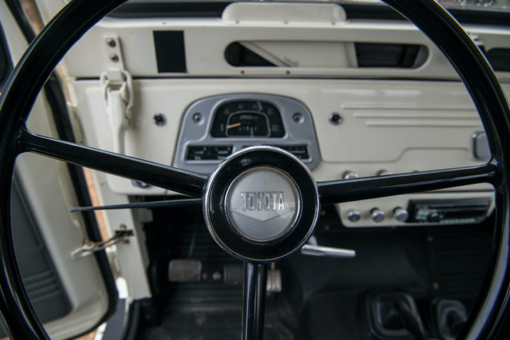 Toyota FJ45 Land Cruiser Steering Wheel