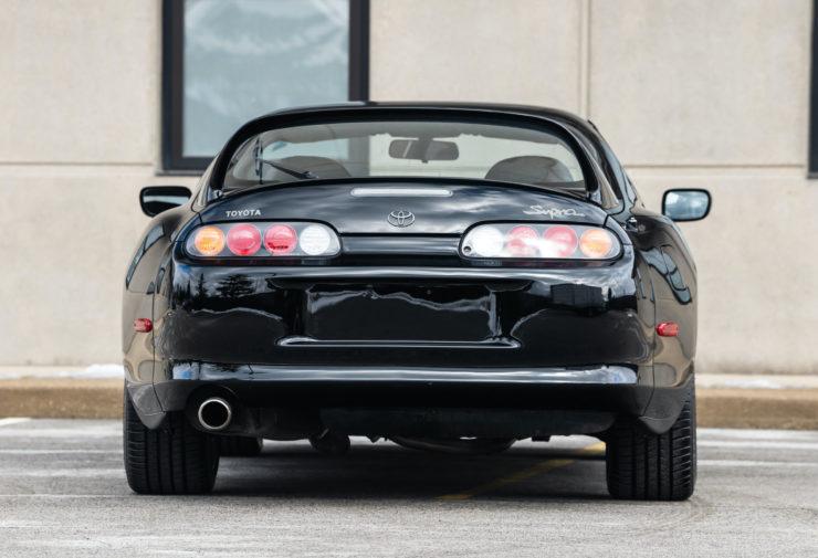 Toyota Supra Back