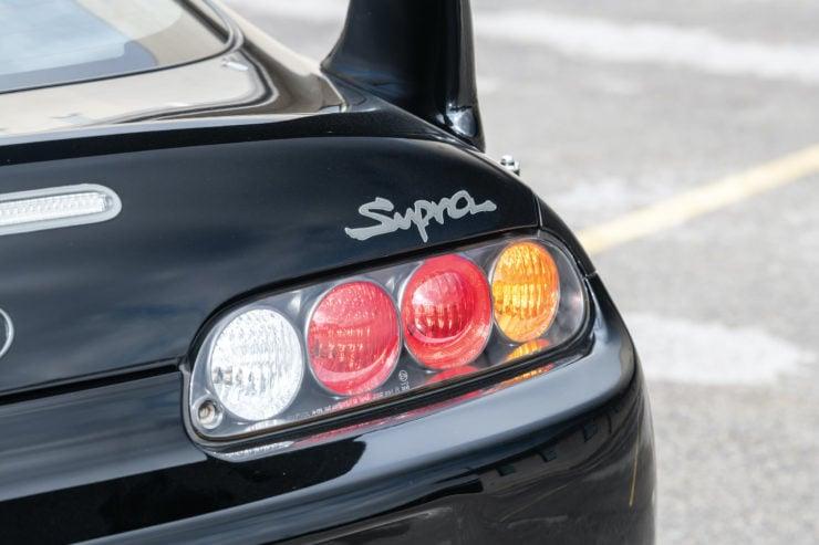 Toyota Supra Brake Lights