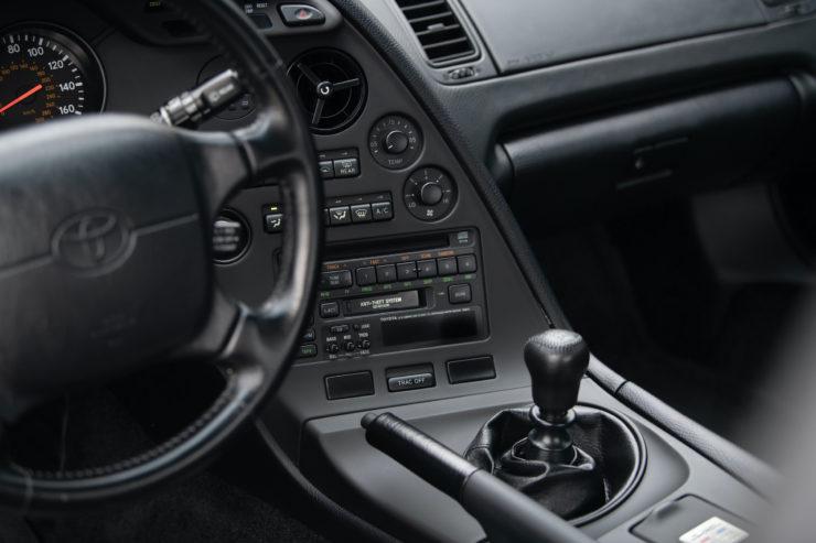 Toyota Supra Dash