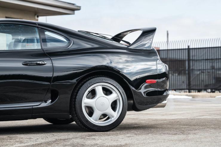 Toyota Supra Rear Wheel