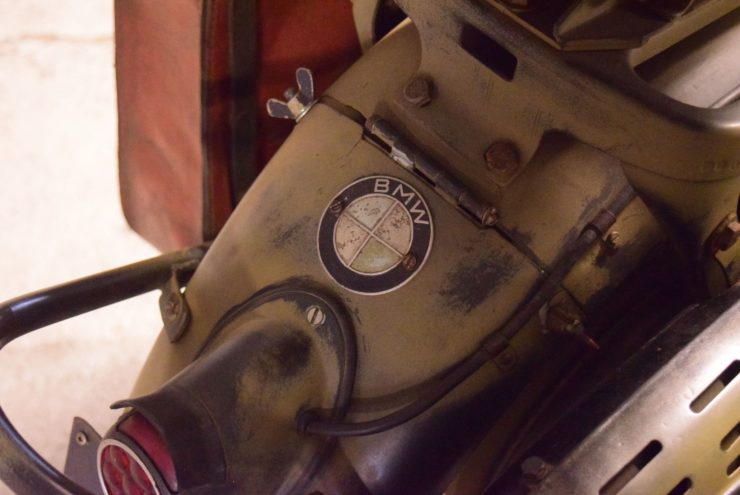 Vintage BMW Logo Badge