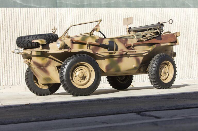 Volkswagen Type 166 Schwimmwagen - Erwin Komenda's Amphibious 4x4