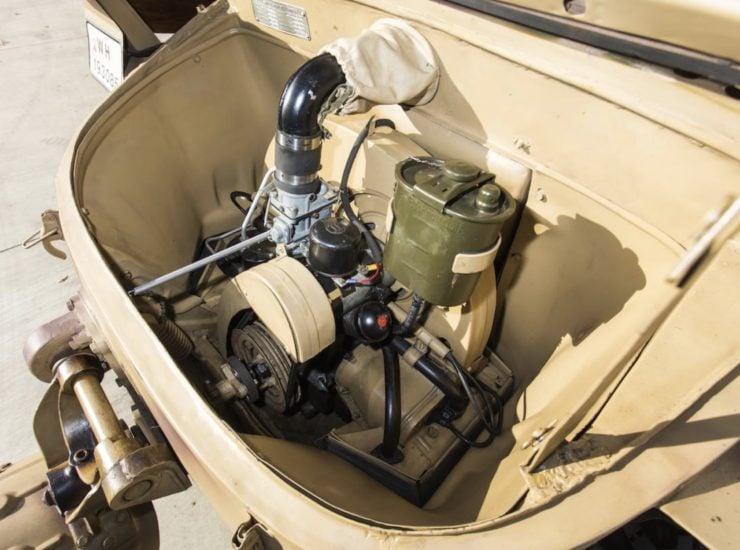 Volkswagen Type 166 Schwimmwagen Engine
