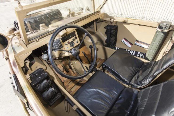 Volkswagen Type 166 Schwimmwagen Interior 2