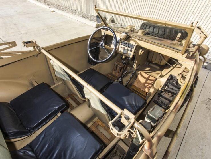 Volkswagen Type 166 Schwimmwagen Interior