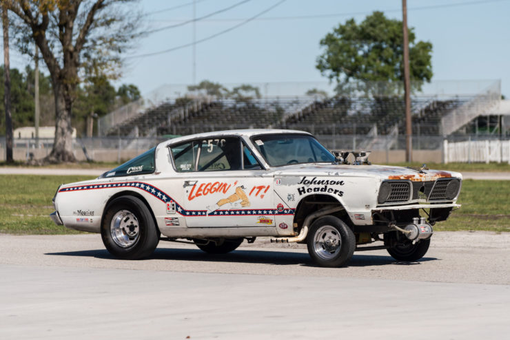 1966 Plymouth Barracuda Drag Car with 1965 Dodge C-500 Hauler 10
