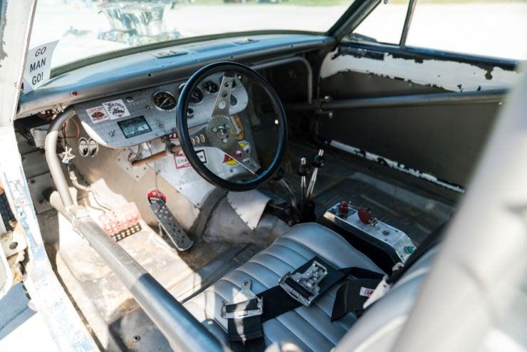 1966 Plymouth Barracuda Drag Car with 1965 Dodge C-500 Hauler 16