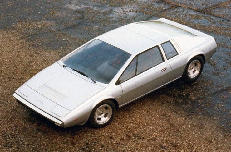 Lotus Esprit concept car Ital Design Turin Giorgetto Giugiaro