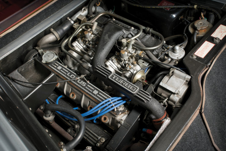 Lotus Turbo Esprit engine