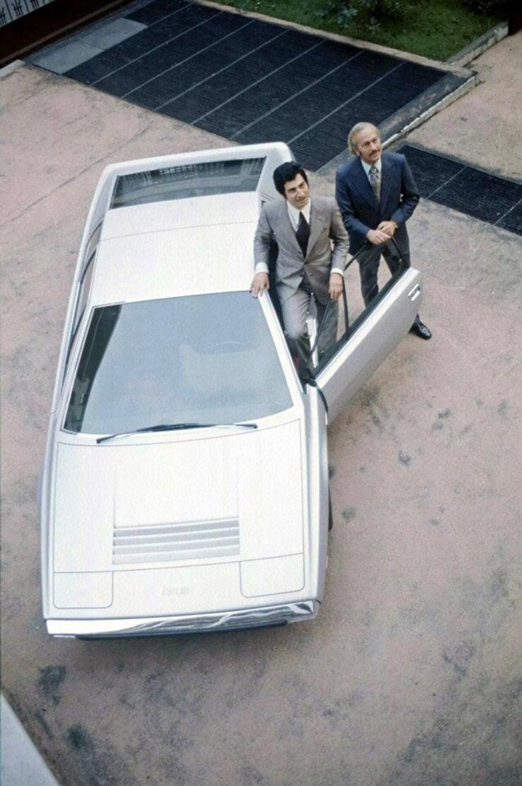 Lotus Esprit concept car Giorgetto Giugiaro Colin Chapman