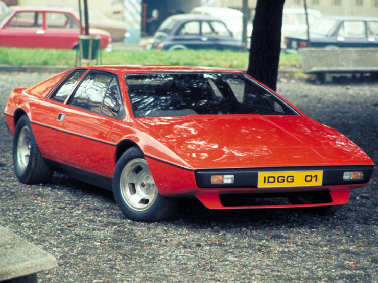 Lotus Esprit M70 second prototype red car