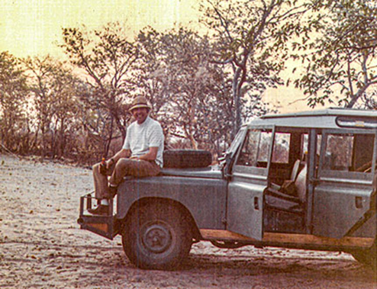Carroll Shelby Africa Land Rover