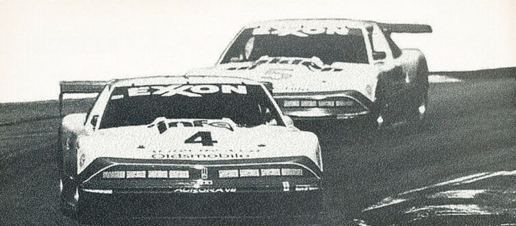 Oldsmobile Aurora race cars