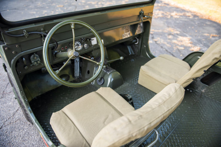 American Motors Mighty-Mite Interior