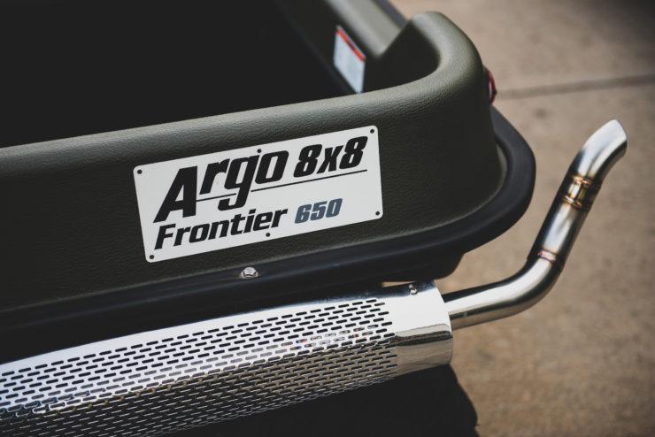 Argo Frontier 650 Badge