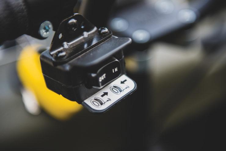 Argo Frontier 650 Controls 2