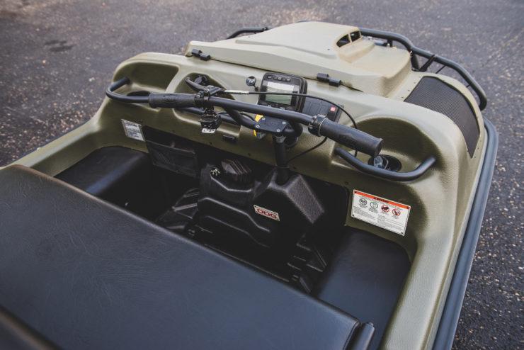 Argo Frontier 650 Controls