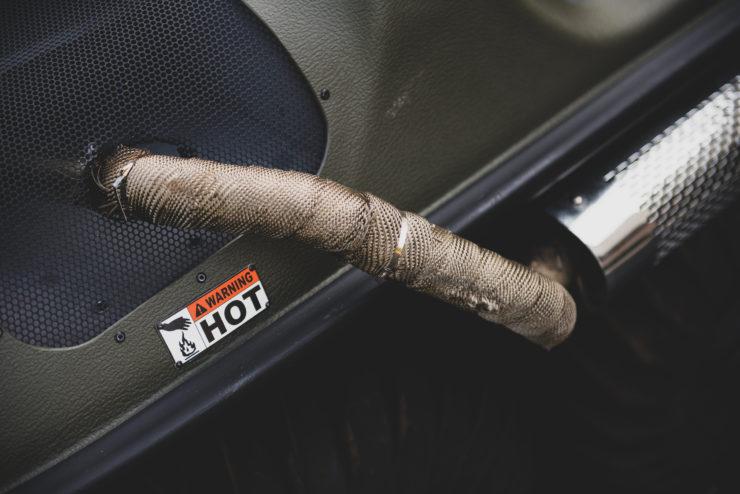 Argo Frontier 650 Exhaust Wrap