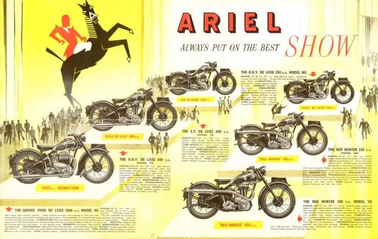 Ariel Red Hunter