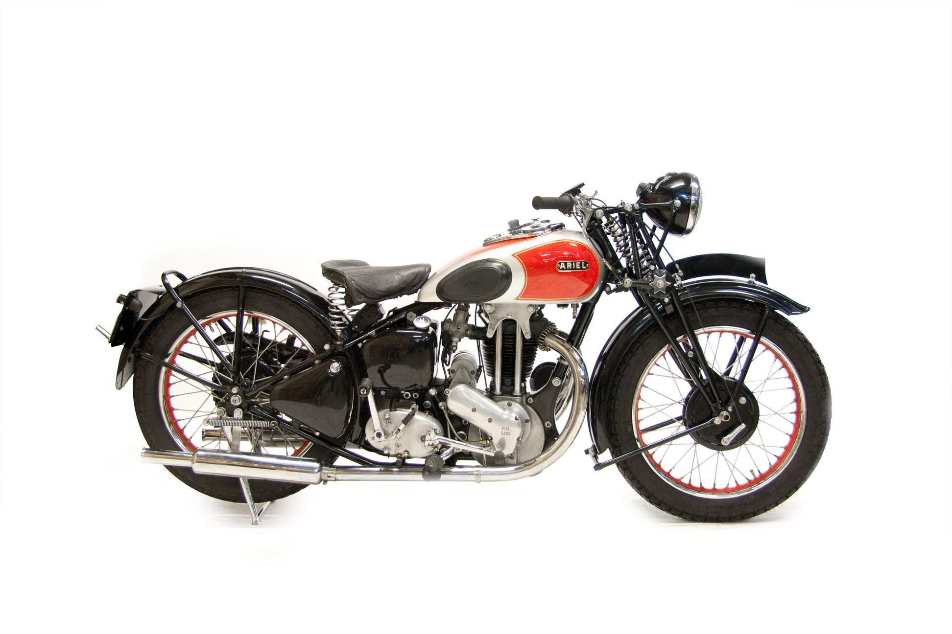 Ariel Red Hunter Motorcyle