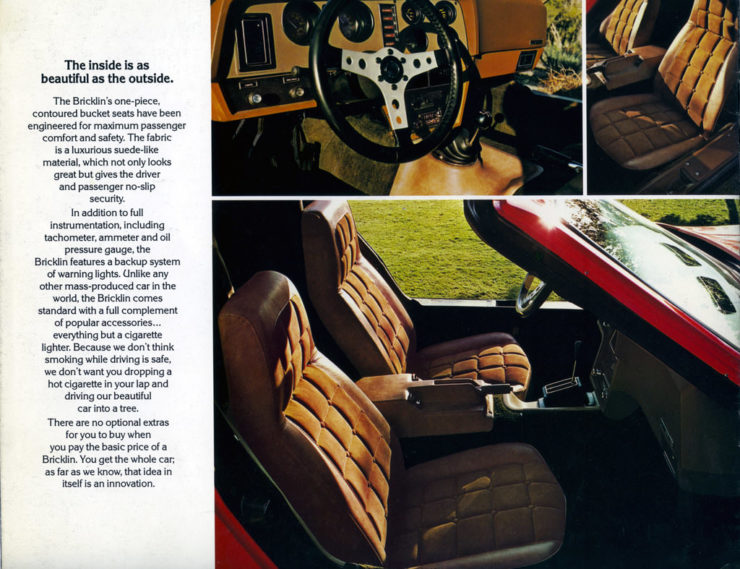 Bricklin SV-1 Brochure
