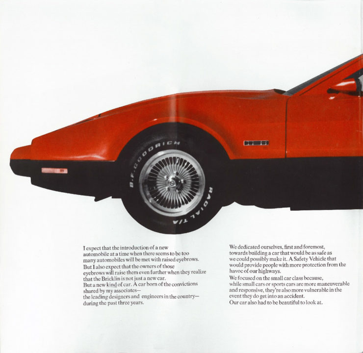 Bricklin SV-1 Nose