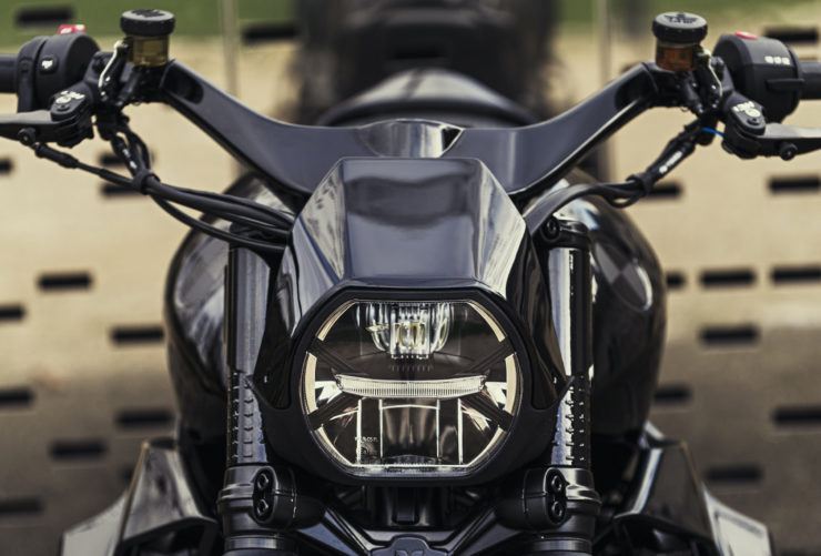 Custom BMW Rnine T Motorcycle 9