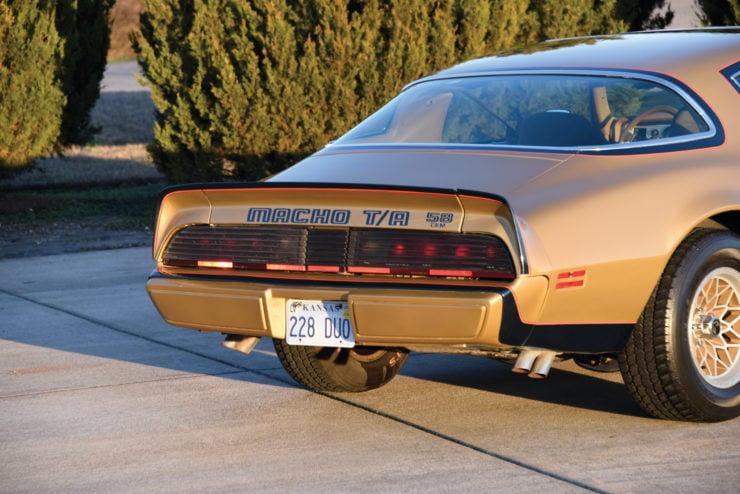 DKM Pontiac Macho Trans Am T/A Back