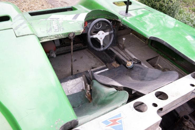 Daren-BRM Mark III Prototype Race Car Cockpit