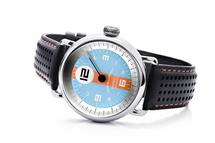 Ferro & Co. Distinct III Vintage Racing Watch Gulf 2