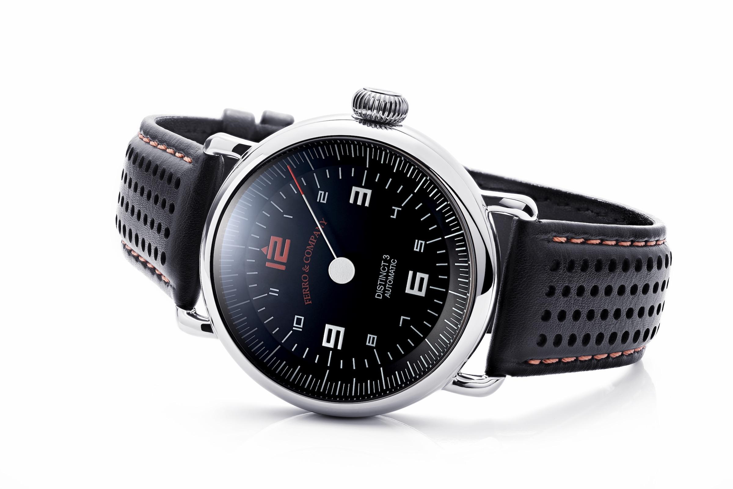 Ferro & Co. Distinct III Vintage Racing Watch