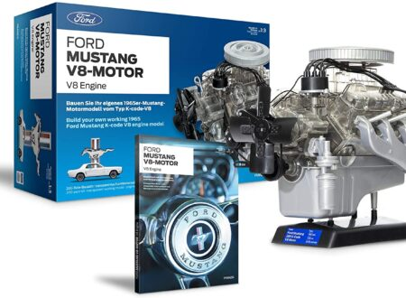 Ford 1965 Mustang V8 Engine Model Kit Box
