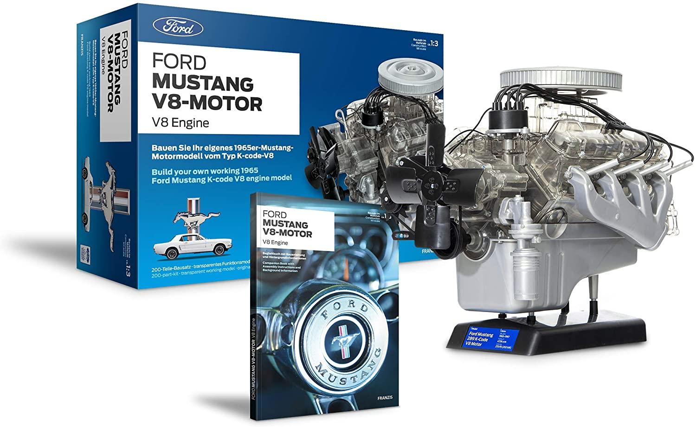 Ford 1965 Mustang V8 Engine Model Kit Box