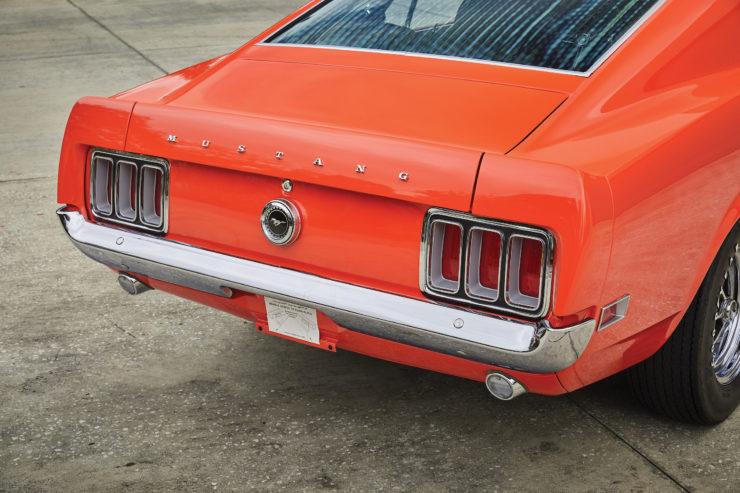 Ford Mustang Boss 429 Brake Lights
