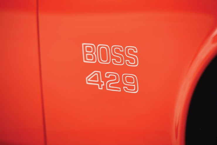 Ford Mustang Boss 429 Decal