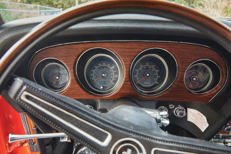 Ford Mustang Boss 429 Gauges