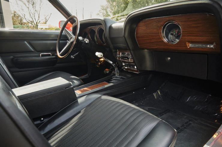 Ford Mustang Boss 429 Interior