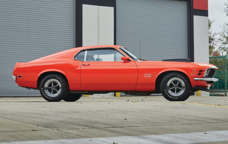Ford Mustang Boss 429 Side