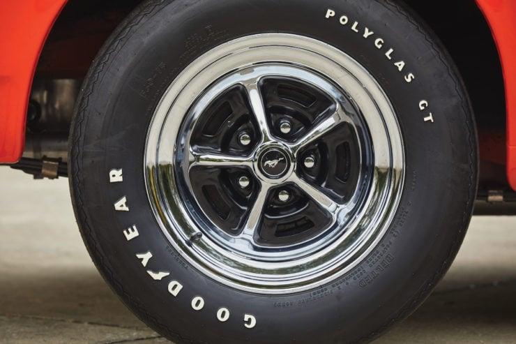 Ford Mustang Boss 429 Wheels