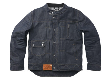 Fuel Greasy Denim Jacket