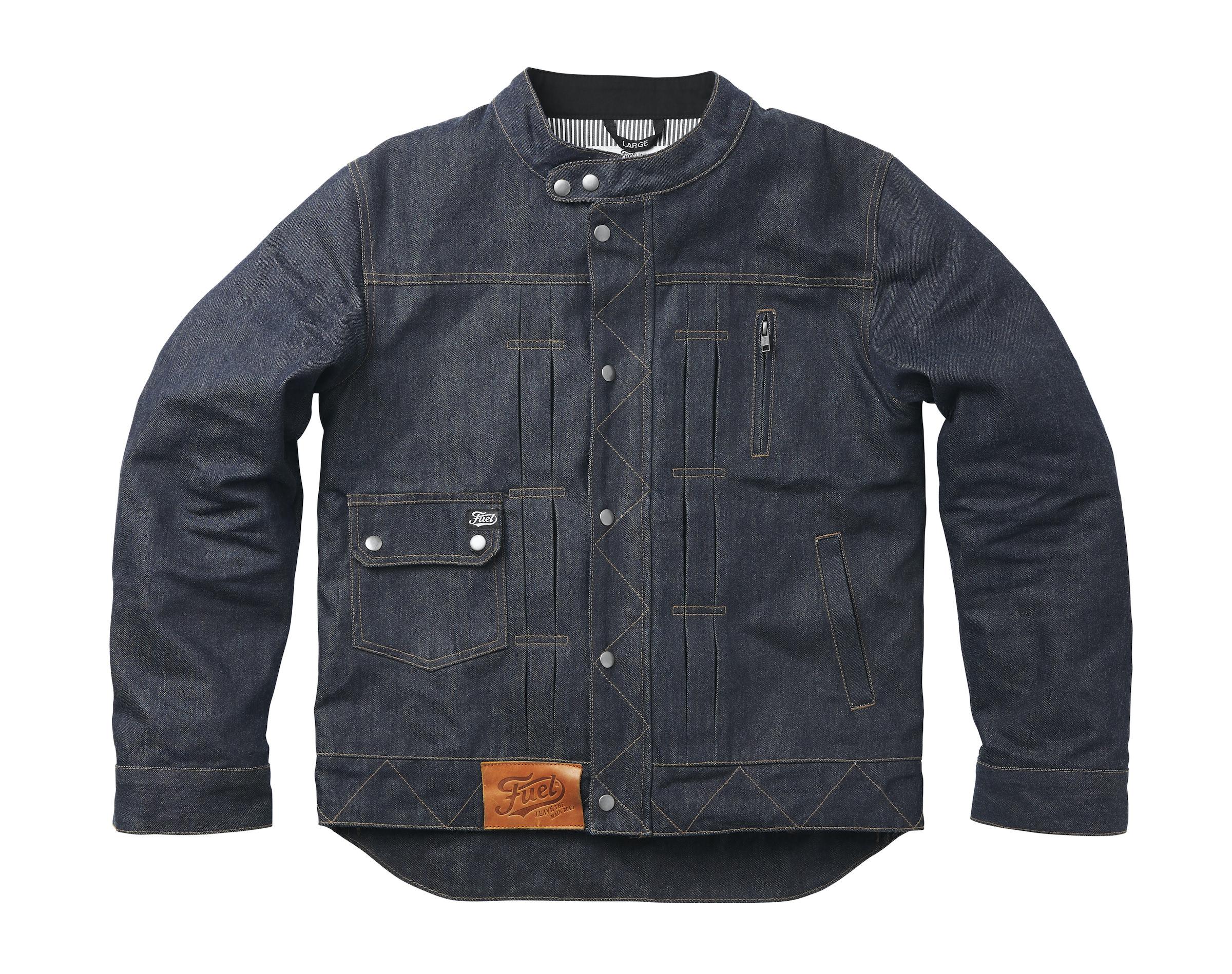 Fuel Greasy Denim Jacket