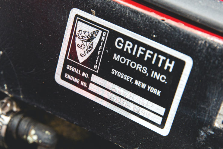 Griffith Series 200 VIN