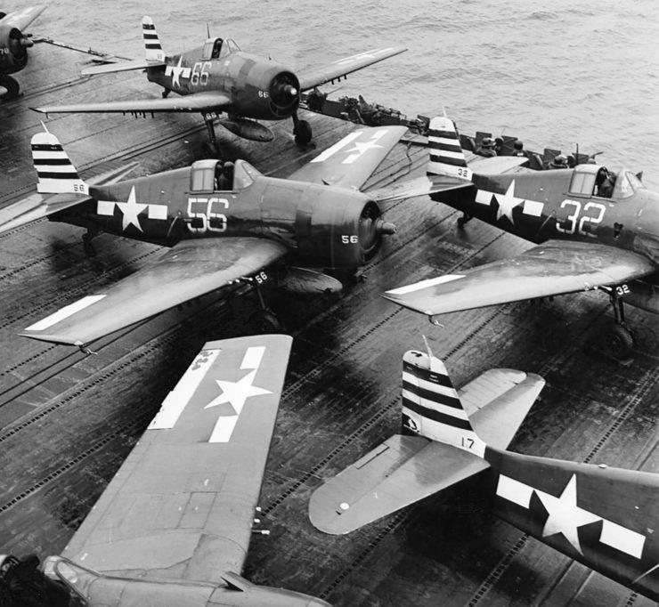 Grumman F6F Hellcat Aircraft Carrier