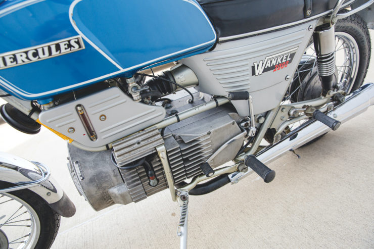 Hercules W2000 Engine 2