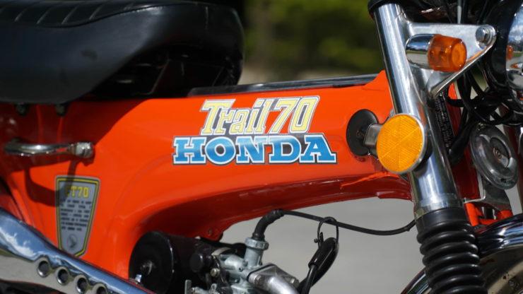 Honda CT70 3