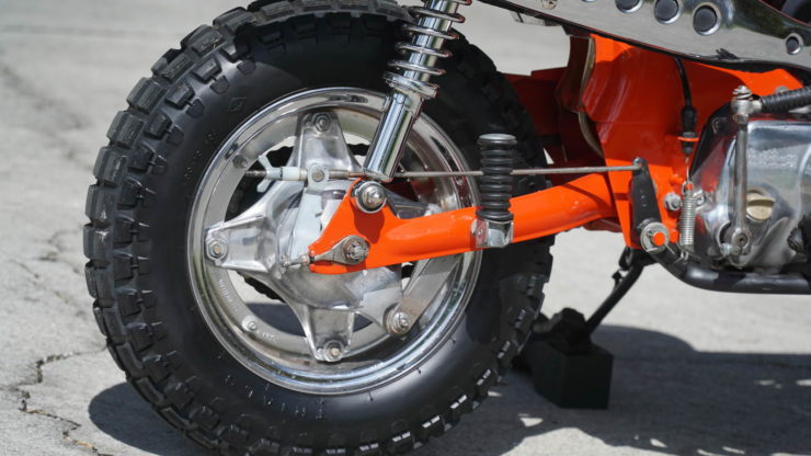 Honda CT70 Rear Wheel