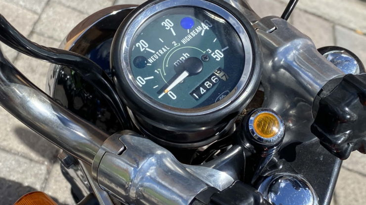 Honda CT70 Speedometer