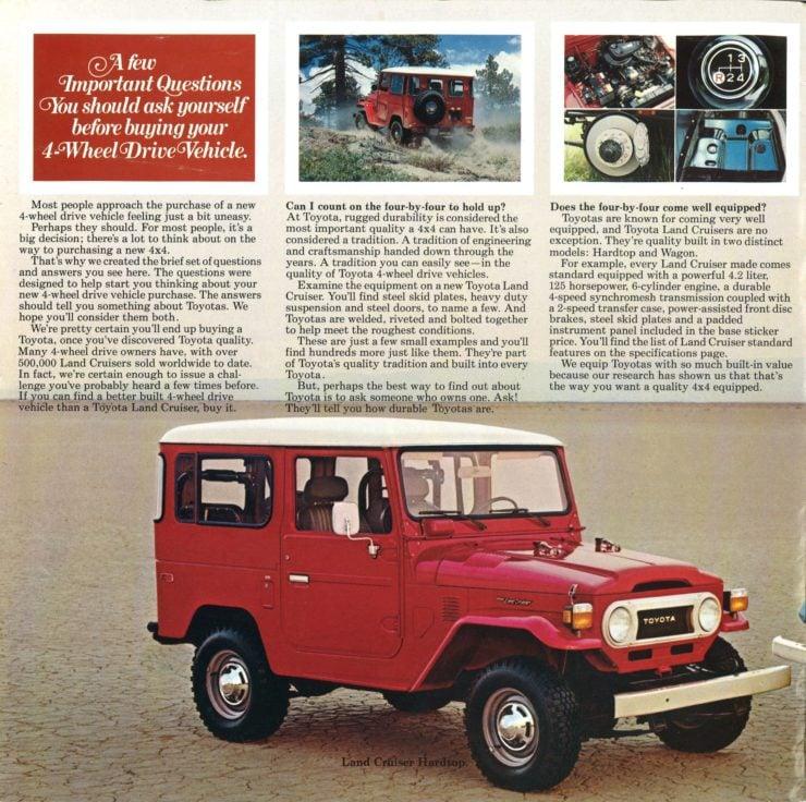 Land Cruiser Vintage