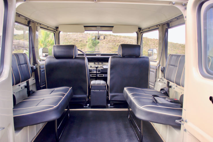 Toyota Land Cruiser FJ40 Rear Seats